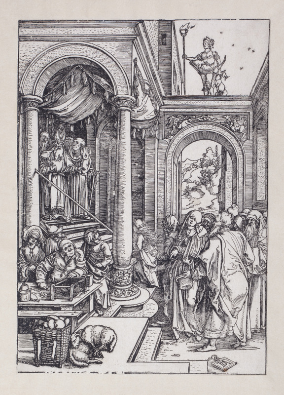 The Life of the Virgin V; The Presentation of the Virgin in the Temple