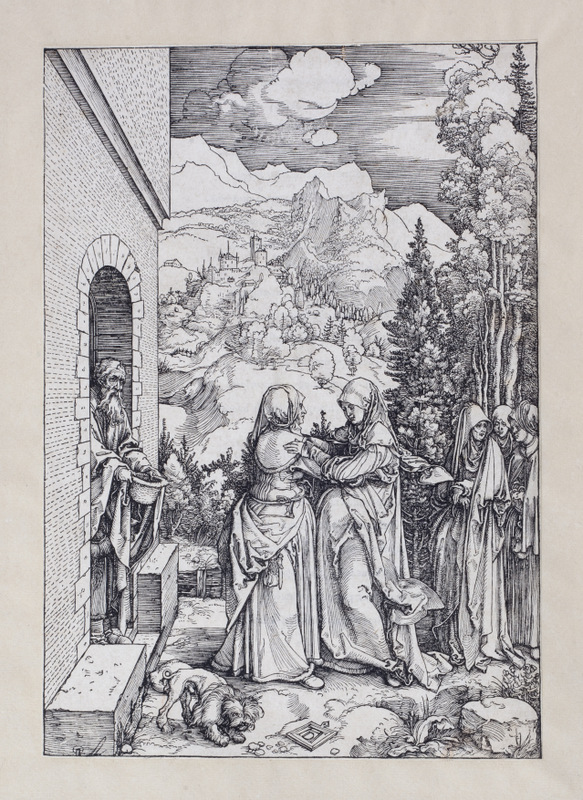 The Life of the Virgin VIII; The Visitation