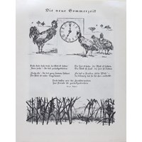 Illustration to Die neue Sommerzeit by Arno Nabel