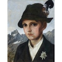 Portrait of the Artist's Son Siegfried aged 12