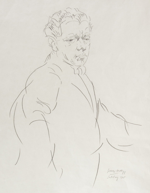 Portrait of Max Reinhardt