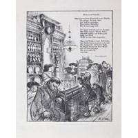 Illustration to Schnapsdestille (Liquor Shop)