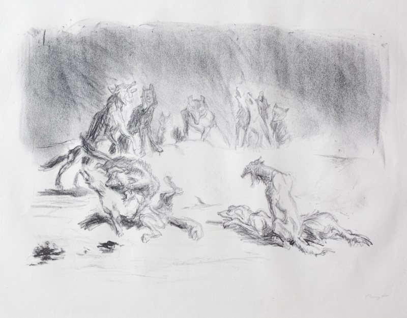 Visions Plate 2: Howling Hyenas