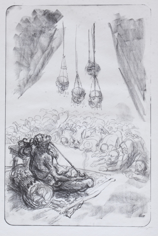Visions Plate 10: The Victor's Dream (An Idol Who Allows Himself to be Worshipped)