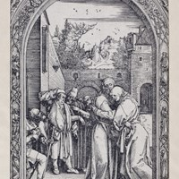 The Life of the Virgin III; The Meeting of Joachim and Anna at the Golden Gate