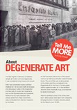 Activity Sheet - Tell Me More About Degenerate Art