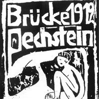 Exhibition poster by Otto Mueller 1912