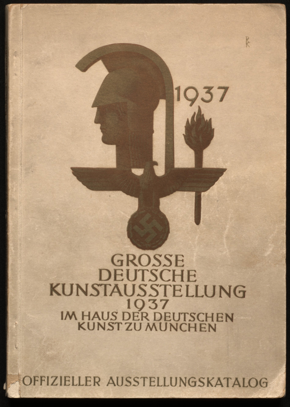 The Great German Art Exhibition 1937 - Offical Exhibition Catalogue