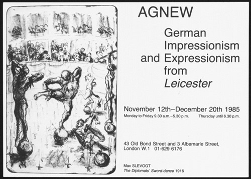 Exhibition At Agnew Gallery London 1985