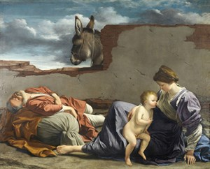 007 Rest Flight Egypt Gentileschi